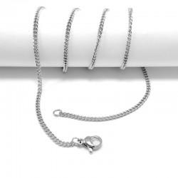 nemesacél nyaklánc Csavart nemesacél nyaklánc (45 cm)