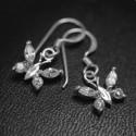 ezüst fülbevaló Pillangó fülbevaló 925 ezüstből