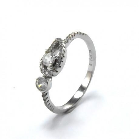 ezüst gyűrű Ezüst angyalszárny gyűrű