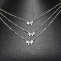 ezüst nyaklánc Masnikkal díszített, 3 részes ezüst nyaklánc