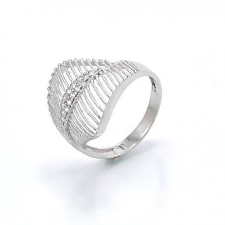 ezüst gyűrű Elegáns, CZ köves gyűrű 925 ezüstből
