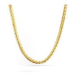 Férfi nemesacél nyaklánc webáruház Nemesacél arany kígyó