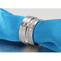 páros karikagyűrű Nemesacél férfi karikagyűrű