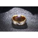 nemesacél gyűrű Nemesacél női gyűrű cirkónia kövekkel
