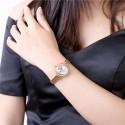 karóra óra Kristályokkal díszített szív mintás női karóra -