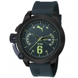 márkás óra olcsón PUMA szilikon szíjas férfi kronográf karóra