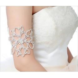 esküvői karkötő Kristályvirág, többfunkciós esküvői karkötő