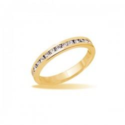 kristályos gyűrű Apró köves kristályokkal díszített gyűrű