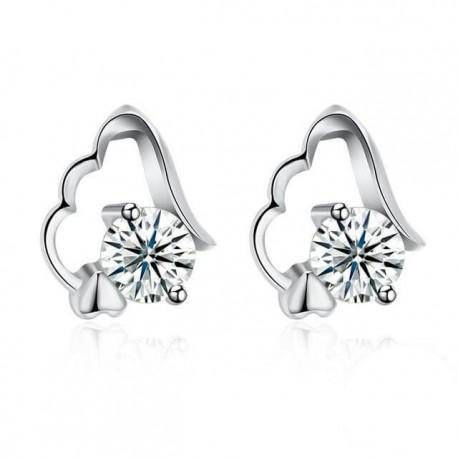 e175ef0045 Ezüst angyalszárny fülbevaló cirkóniával - Ezüst fülbevalók - Ékszer ...