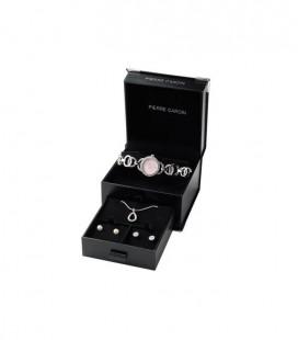 Pierre Cardin kristályos karóra és ékszer szett PCX0510L06