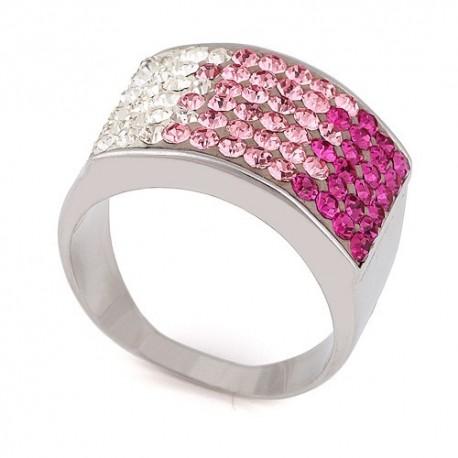 nemesacél gyűrű Színátmenetes gyűrű nemesacélból