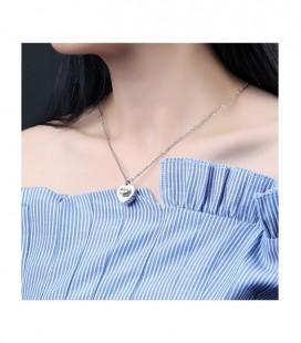 Kék Swarovski kristályos elegáns nyaklánc