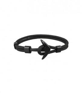 Anchor karkötő fekete horgonnyal - fekete színben