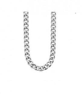Sűrű láncszemes uniszex nemesacél nyaklánc (60cmx2mm)