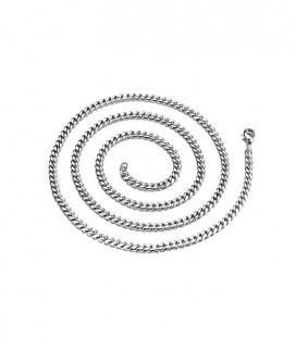 Sűrű láncszemes nemesacél nyaklánc (75 cm - 5 mm)