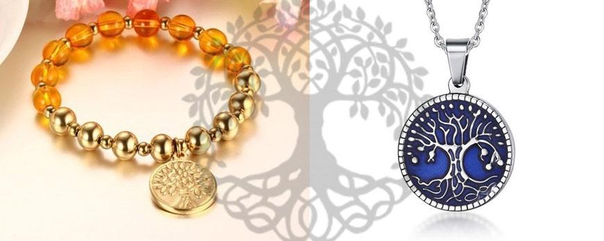 Életfa szimbólumos ékszerek és valódi jelentésük
